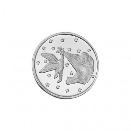 Bornbaby Silver Coin of 25 Gram in 999 Purity / Fineness