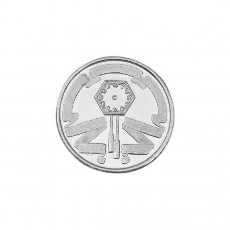 Bornbaby Silver Coin of 20 Gram in 999 Purity / Fineness