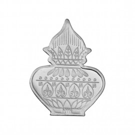 Kalash Shape Silver Coin of 20 Gram in 999 Purity / Fineness