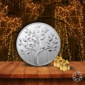 MMTC PAMP Silver Coin Banyan Tree of 100 Gram in 999.9 Purity / Fineness