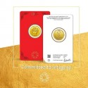 MMTC-PAMP Gold Coin of 4 Grams 24 Karat in 999.9 Purity / Fineness in Certi Card